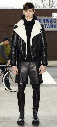 LOOKBOOK: WILLY CARTIER & SIMONE NOBILI FOR GIVENCHY PRE-FALL 2012 BY RICCARDO TISCI