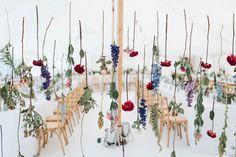 Hanging floral insta