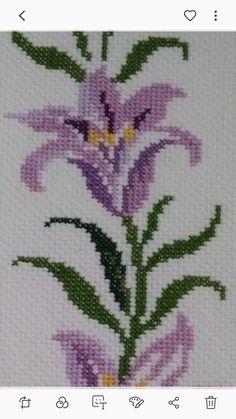 Cross Stitch Embroidery, Cross Stitch Patterns, Cross Stitch Flowers, Maya, Embroidery Designs, Crochet, Boarders, Cross Stitch Alphabet, How To Make Crafts