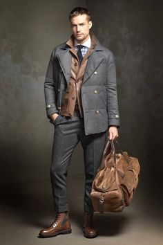 Brunello Cucinelli Menswear осень-зима 2017/2018