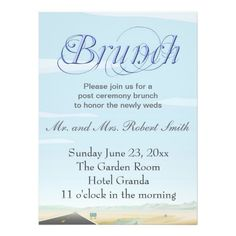 post-wedding brunch invitations | weddings | pinterest, Wedding invitations
