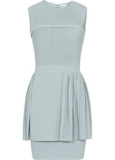Reiss pleated dress, 189 - wedding guest dresses - wedding guest outfits