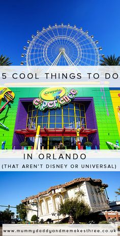 5 Cool Things to do in Orlando (that aren't Disney or Universal Studios)