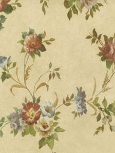 Americanblinds and wallpaper no longer offers wallpaper as part of it's product selection to shift it's focus on window treatments. Velvet Wallpaper, Home Wallpaper, Textured Wallpaper, Vintage Floral Wallpapers, Decoupage, Floral Bouquets, Wall Murals, Bloom, Free Stuff