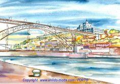 Aguarela Porto