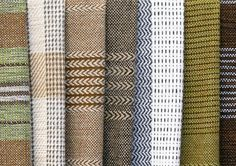 Full-Frame hintergrund, herkömmliche Wolle handgewebte Stoffe  Stockfoto