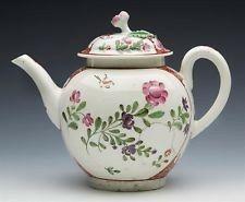 c1770 Worcester tea pot