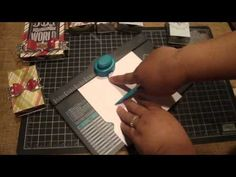 ▶ Create matchboxes with the We R Memory Keepers Envelope Punch Board - YouTube