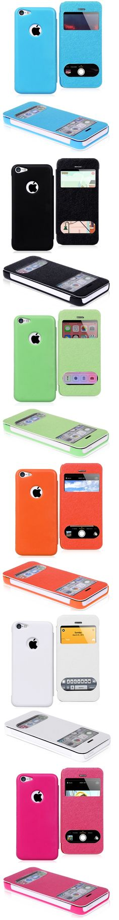 iPhone 5C S View Cover Case Protective Back Cover for iPhone 5C #Sview #cover #case #iphone5C #iphone #iphonecases #iphone5Ccase #freeshipping #loweprice #bigoffers #discounts #newiphone #apple #iphonecovers $3.49