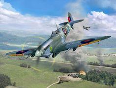 Spitfire Mk IXc by Egbert Friedl