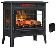 PuraFlame's #1 Energy Efficient Portable Electric Heater Electric Fireplaces Direct, Best Electric Fireplace, Duraflame Electric Fireplace, Best Space Heater, Portable Electric Heaters, Fireplace Heater, Infrared Heater, French Grey, Warm And Cozy