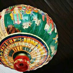 Peranakan Lantern by Vivian Chew Style Asiatique, Chinese Paper Lanterns, Paper Umbrellas, Oriental, Lantern Lamp, Chinoiserie Chic, Asian Decor, Chinese Culture, Asian Art