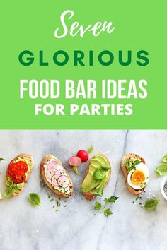 Planning an event but not quite sure what to serve as food? Check out these 7 GLORIOUS food bar ideas for parties! They not only add a touch of fun and colour to the celebration, but are also incredibly delicious! So whether you're after foodie kitchen tea ideas, birthday party food tips, or anything in-between - follow the link for instant inspiration.