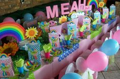 """Lollos and Lettie Party"" Birthday Party Themes, 2nd Birthday, Theme Ideas, Party Ideas, Parties, Kids, Destiny, South Africa, Unicorn"