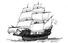 O Homem Ilustrado - The Illustrated Man: Naval art