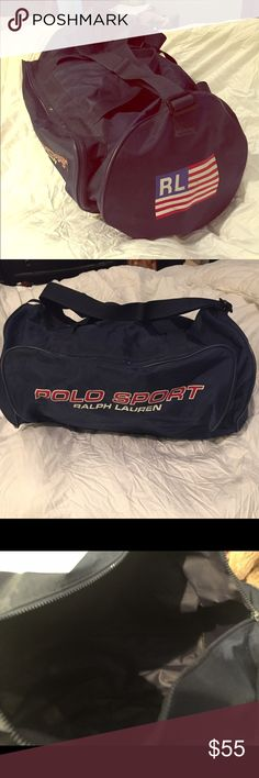 Polo sport flag 🇺🇸 duffle bag Polo sport flag 🇺🇸 duffle bag 20' wide Polo by Ralph Lauren Bags Travel Bags
