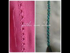 ملاقية فالراندة رائعة و بسيطة *ام ام/randa - YouTube Sewing Techniques, Traditional Outfits, Stitch, Videos, Point Lace, Lace, Embroidery, Full Stop, Sew