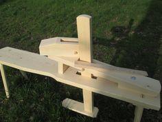 shaving horse , truhlářská stolice .....