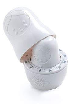 Twisting Sisters Kitchen timer--ordering this today, since I already have the matching nesting measuring cups!