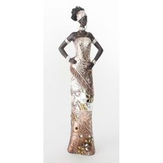 STATUE - STATUETTE Statuette - figurine Femme africaine - 36 cm