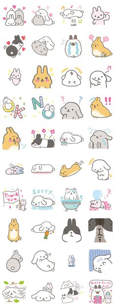 Mofutans is the softest bunny rabbit in the entire universe. Download these stickers and soften up your chats today with the power of fluff.
