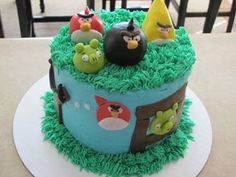 Angry birds all edible