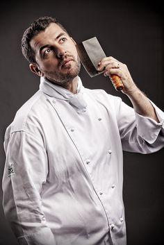 Magazine Shoot of Three Executive Chefs - Inside Portrait 3 by Daniel Hopper Photography, via Flickr