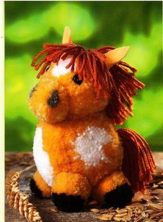 Pom Pom Horse