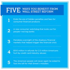 Two years in, Wall Street reform is protecting Main Street. See how you benefit—and share this image with your friends.
