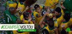 Há boatos de que o campeão voltou... E nós achamos que de vez em quando, é bom acreditar em boatos!  Parabéns pela conquista, Brasil! #vem2014 #estamosprontos #ocampeãovoltou #seleçãodeouro