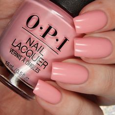 Summer 2018 Grease Collection OPI Hopelessly Devoted To OPI is a light pink toned peach creme.OPI Hopelessly Devoted To OPI is a light pink toned peach creme. Peach Nail Polish, Opi Nail Polish, Opi Nails, Nail Polish Colors, Nail Polishes, Gel Nail, Uv Gel, Peach Colored Nails, Peach Nails