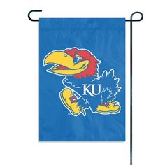 Kansas Jayhawks NCAA Mini Garden or Window Flag (15x10.5)