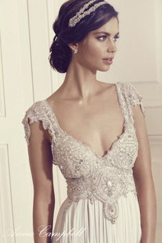 Vestido de boda Anna Campbell 2016