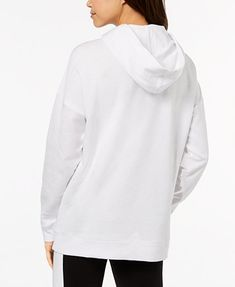Image 2 of Material Girl Active Juniors' Cutout Graphic Hoodie, Created for Macy's