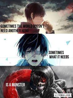 Deadmau - My Worlds Sad Anime Quotes, Manga Quotes, Tokyo Ghoul Quotes, Ken Kaneki Tokyo Ghoul, Tokyo Ghoul Wallpapers, Pinterest Instagram, Dark Quotes, Dark Anime, Wallpaper Quotes