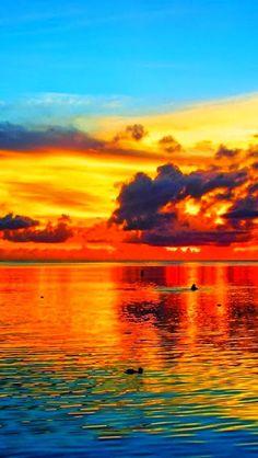 Sunset, Pacific Ocean