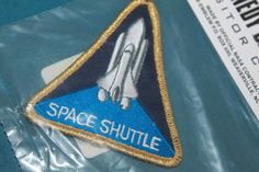 Your place to buy and sell all things handmade Kennedy Space Center, Triangle Shape, Space Shuttle, Geek Chic, Nasa, Great Gifts, Patches, Electric, Geek Stuff