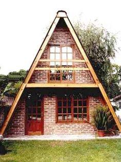 Cabaña alpina prefabricada de madera económica