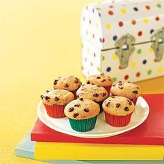 Mini Chocolate- Chip Cupcakes | MyRecipes.com
