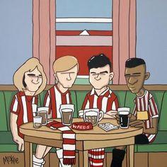 Lane Legends Pete McKee Best Football Team, Football Art, Pete Mckee, Sheffield United Fc, Sheffield Steel, Joe Scarborough, Image Foot, Local Legends, Yorkshire England