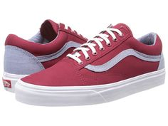 Vans Old Skool™ (Side Stripe) Red/Leopard - Zappos.com Free Shipping BOTH Ways