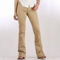 Image detail for -DICKIES Girl Lo Rider Pants - KHAKI Size 4 - Pants - 6 - Streetwear