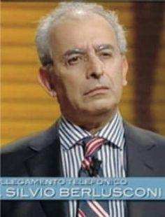 """25/1/2011. Effetto delle parole """"disgustoso"""", """"spregevole"""", """"turpe"""", """"ripugnante"""" sul volto di Gad Lerner, duramente contestato in diretta telefonica da Berlusconi, che non aveva apprezzato la puntata in corso de L'infedele."""