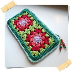 Esquemas y modelos de Cuadritos de Crochet - Granny Square Crochet