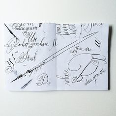 Calligraphy A-Z