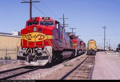 RailPictures.Net Photo: ATSF 612 Atchison, Topeka & Santa Fe (ATSF) GE C44-9W (Dash 9-44CW) at Stockton, California by Steve Schmollinger