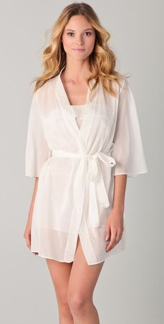 43de9ae3d5 A beautiful robe to get ready in the day of the wedding  ) Shopbop.