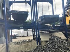Double Overband Magnet installation removing tramp ferrous metal during the #recycling of PVC #plasticwaste Pvc Recycling, Plastic Waste, Bunting, Magnets, Around The Worlds, Metal, Garlands, Buntings, Metals