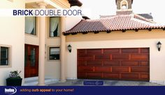 leading Garage Door manufacturers in South Africa. We have one of the largest selections of garage doors to choose from. Garage Doors Pretoria and Centurion Outdoor Decor, Timber, Garage Door Manufacturers, Garage Doors, Double Doors, Timber Garage Door, Brick, Curb Appeal, Doors