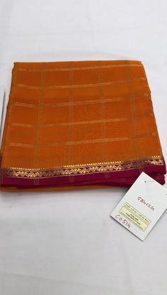 South Indian Wedding Saree, Saree Wedding, Mysore Silk Saree, Crepe Silk Sarees, Wedding Saree Blouse Designs, Pin Interest, Ethnic Sarees, Saree Models, Indian Beauty Saree